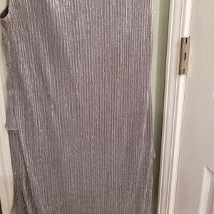Connected Dresses - Shimmering Silver Party Dress